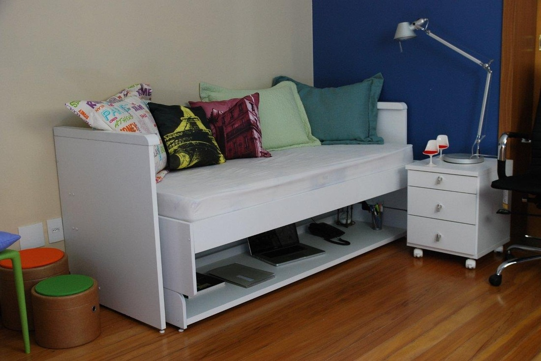 Ritzy Twin - Hiddenbed USA - Double Your Space 1-866-673-7069